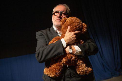 Gerhard Zuggal in der letzten Theatermobil-Produktion.VN/KH