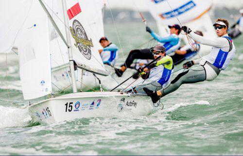 David Bargehr und Lukas Mähr hoffen in der 470er-Klasse noch auf einen Quotenplatz für die Olympischen Spiele 2020 in Tokio.Verband