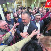 Roter Erdrutschsieg im Burgenland