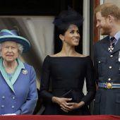 Nach royalem Krisentreffen: Queen gibt Harry und Meghan ihren Segen. C8
