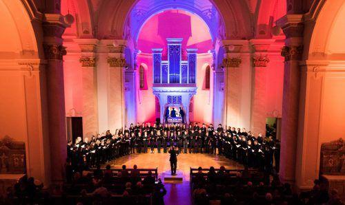 Französische Kathedralmusik der Romantik wird am Samstag und Sonntag in Feldkirch und Bregenz zu hören sein.                              chor des vlbg. landeskonservatoriums/viktor malin