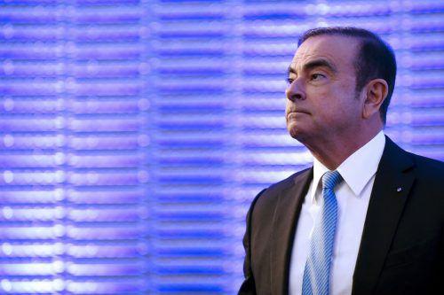 Fühlt sich als politisches Opfer: Der einst mächtige Automanager Carlos Ghosn.AFP