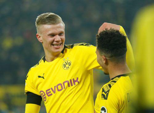 Fünf Tore in zwei Spielen: Erling Haaland erobert Dortmunds Herzen im Sturm.Reuters