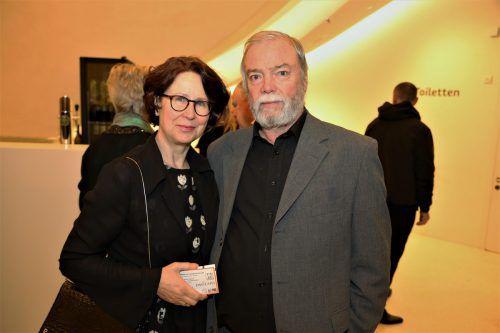 Gabriele und Manfred A. Getzner genossen den Abend im Montforthaus.