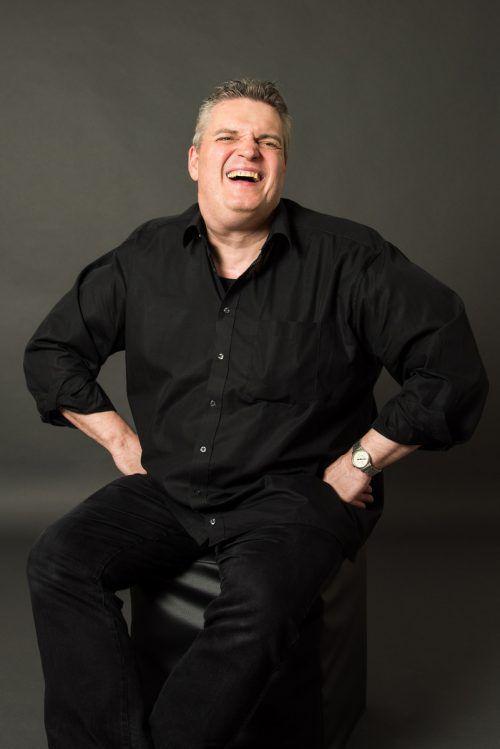 George Nussbaumer unterstützt das Sonus Brass Ensemble. Veranst.