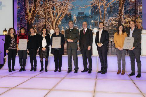 Große Auszeichnung für die HAK Bregenz. Die berufsbildende höhere und mittlere Schule erhielt den Erasmus+ Award.HAK