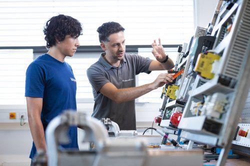 Große Chancen: Vorarlbergs Unternehmen bieten auch heuer Ausbildungen in allen Bereichen an und ermöglichen jedem Jugendlichen die richtige Ausbildung. VKW/Fasching