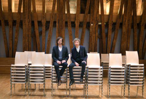 Helge Mooshammer und Peter Mörtenböck leiten den Biennale-Auftritt. APA