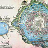 Eine der älteste Stellen von Tenochtitlan entdeckt