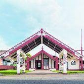 Nasenbegrüßung in Rotorua