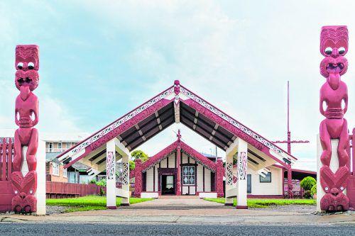 Im Mitai Maori Village können sich Besucher ein Bild von den Bräuchen der Maori machen.