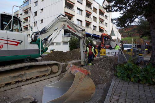 In Weiler wird auch 2020 an der Wasserversorgung gearbeitet. Gemeinde/Fritz