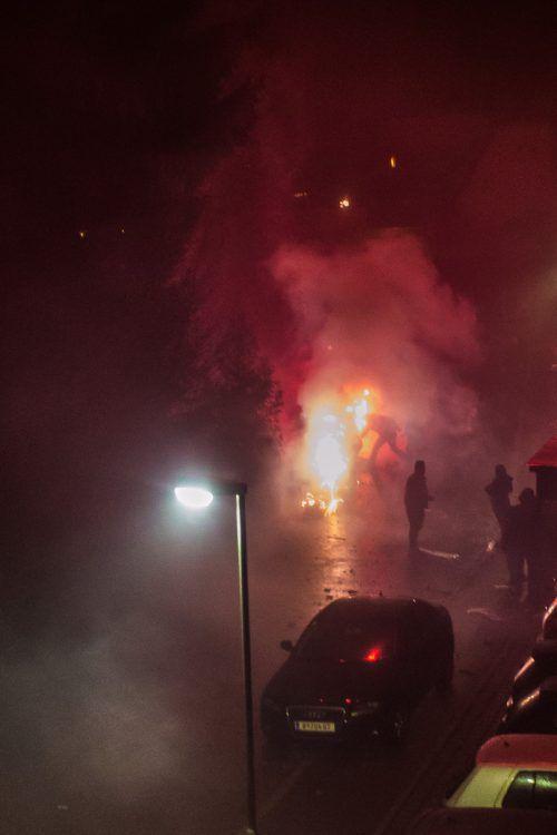 Jugendliche belästigten Passanten mit Krach auf den Straßen. symbol/Steurer