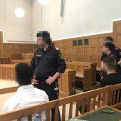 Haftstrafen für ein räuberisches Quartett