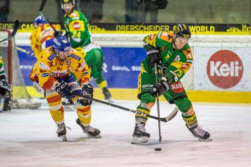 Kapitän Max Wilfan und seine Kollegen brauchen gegen Salzburg Punkte. sams
