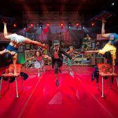 Neue Township-Show vom Circus Mama Africa in Bregenz