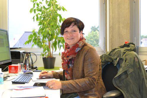 Klaudia Pühringer betrachtet Vertrauen als Grundlage in ihrem Arbeitsbereich im Case-Management des Sozialsprengels Raum Bludenz. BI