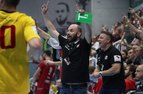 Klaus Gärtner wird nach Saisonende den Alpla HC Hard verlassen und möchte sich mit dem Meistertitel verabschieden.GEPA