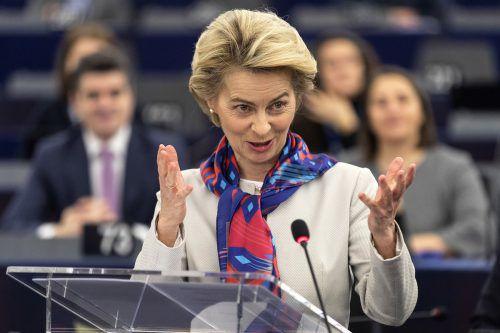 Kommissionschefin von der Leyen will die EU bis 2050 klimaneutral machen. AP