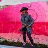 Alpenquerung im Euterballon