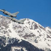 Eurofighter über Vorarlberg