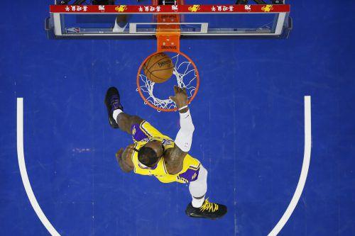 LeBron James hatte bisher 33.655 Zähler in der NBA zu verbuchen.AP