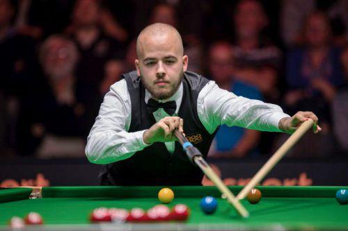 Luca Brecel verbuchte mit 128 Punkten auch das Tournament High Break.Privat