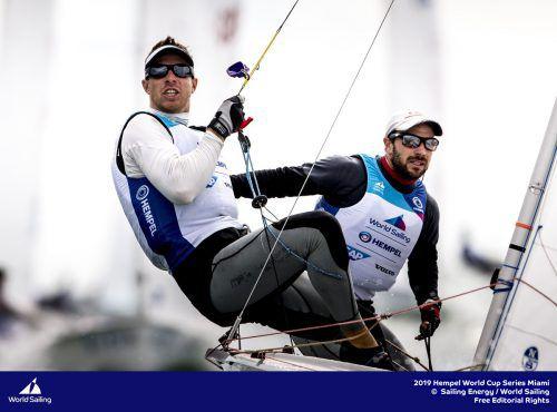 Lukas Mähr (links) und David Bargehr starteten mit Rang 15.Stoerkle