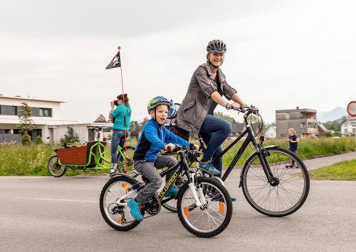 Lustenaus Radförderung wurde jetzt vom Land prämiert.Gemeinde