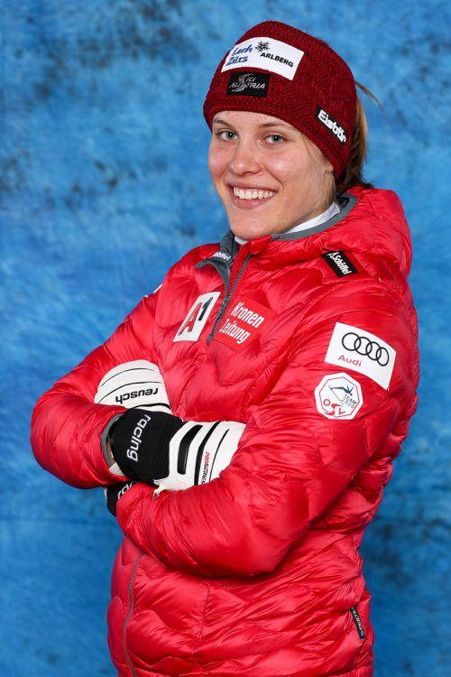 Magdalena Egger kam im neuen Jahr gleich gut in Schwung.gepa