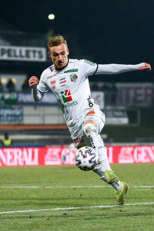 Marcel Ritzmaier ist auf dem Sprung in die englische zweite Liga.gepa