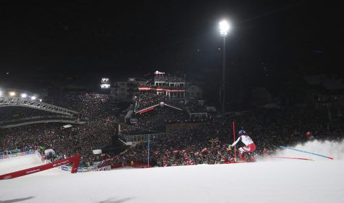 Marco Schwarz fährt zum sechsten Mal den Weltcupslalom in Schladming, im vergangenen Jahr wurde er beim Triumph von Marcel Hirscher Fünfter. gepa