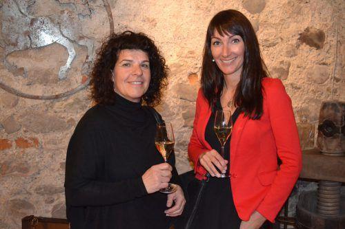 Maria Böhler (l.) und Daniela Ritter (AMS).