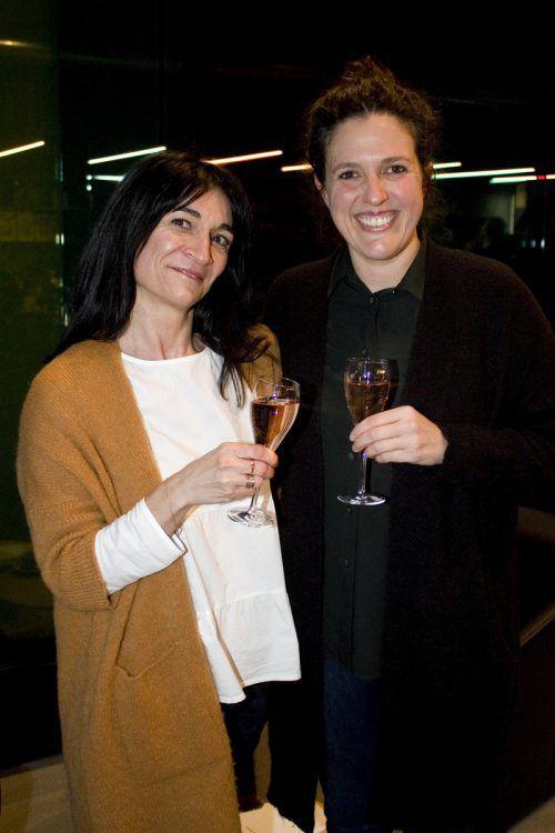 Maria Loacker (Ärztebank) und Bettina Rhomberg (Hotel Krone).