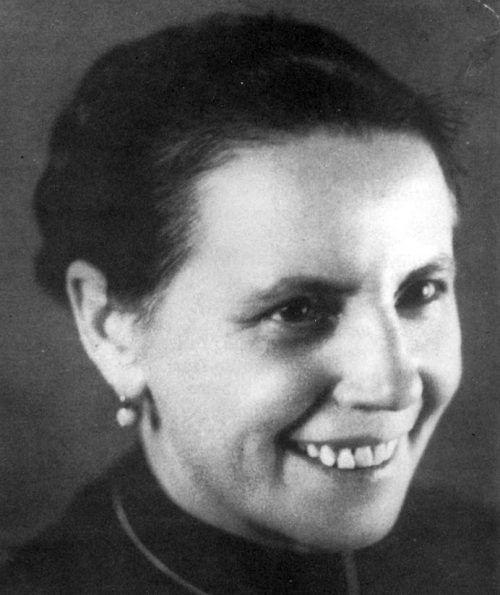 """Maria Stromberger aus Bregenz war """"der Engel von Auschwitz"""". VN-Archiv"""
