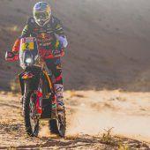 Walkner nach dritter Dakar-EtappeGesamt-Dritter