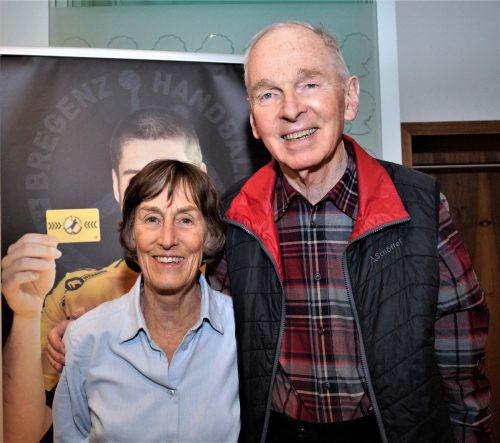 Maude und Wilhelm Dearstyne von Start Vorarlberg.