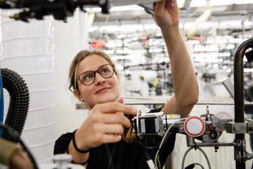 Michaela Siembicka hat in der Kombination Mode und Technik ihren Traumjob gefunden. Wolford AG
