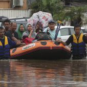 Verheerende Überschwemmungen