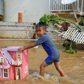 Überschwemmungen machen Zehntausende in Jakarta obdachlos
