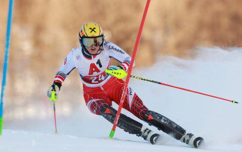 Nach Rang 15 in der Abfahrt beendete die Lecherin Nina Ortlieb die Kombination (Super-G, Slalom) in Zauchensee auf dem guten elften Rang. gepa