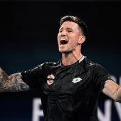 Die Viertelfinalchance beim ATP Cup lebt