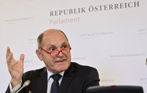 Nationalratspräsident Sobotka fungiert als Vorsitzender. APA