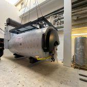 Neuer Heizkessel für Frastanzer Brauerei