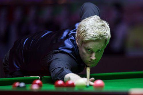 Neil Robertson agierte bei den European Masters in Dornbirn überragend. AFP