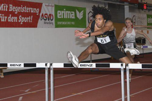 Nesta Ezeh sicherte sich Gold im Siebenkampf der Unter-18-Klasse. VLV