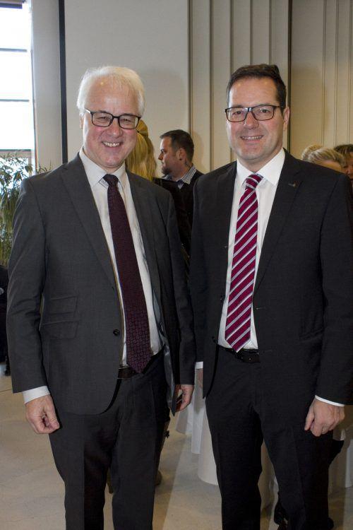Neujahrstalk bei Bezirkshauptmann Elmar Zech (l.) und SPK Vst. Martin Jäger.