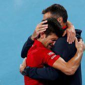Djokovic führt Serbien zu ATP-Cup-Sieg