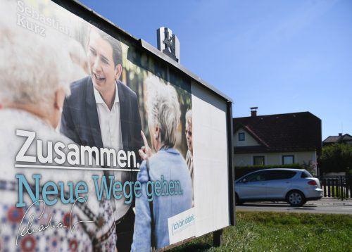 ÖVP-Wahlkampf: Kostengrenze 2017 um fast sechs Millionen überzogen. APA