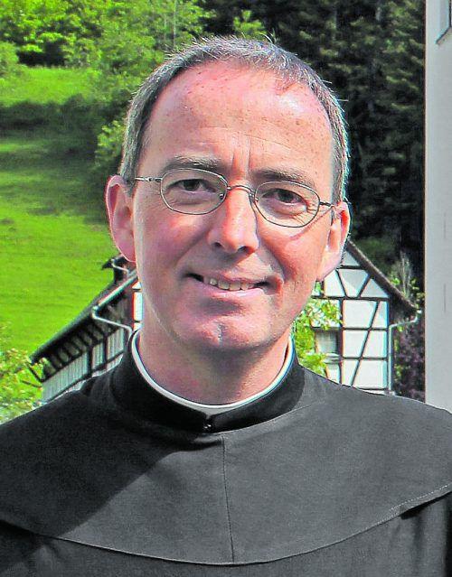 Pater Kolumban Reichlin, Propst von St. Gerold.